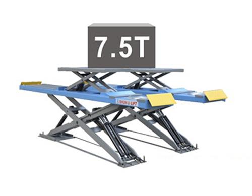 SHL-Y-J-45CCBL 超超薄四轮定位子母剪式举升机