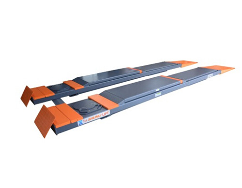 SHL-Y-J-35CCBL 超超薄四轮定位子母剪式举升机