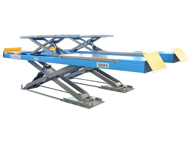SHL-Y-J-35CBL 超薄四轮定位子母剪式举升机