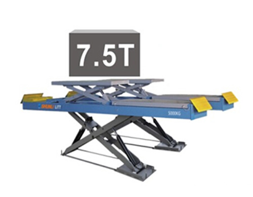 SHL-Y-J-45CBL 超薄四轮定位子母剪式举升机
