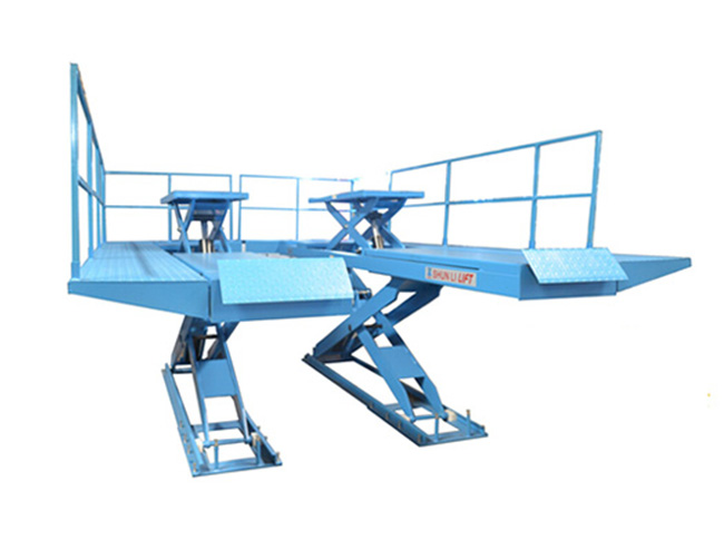 SHL-Y-J-35DLP Platform Type Double Level Scissor Lift
