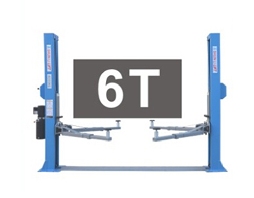 SHL-2-240D Floor Plate Two Post Lift