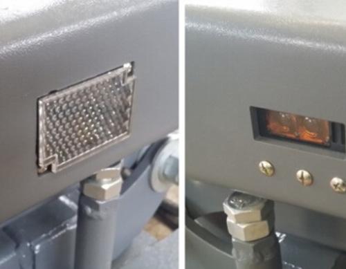 Infra-red electronic leveling sensor
