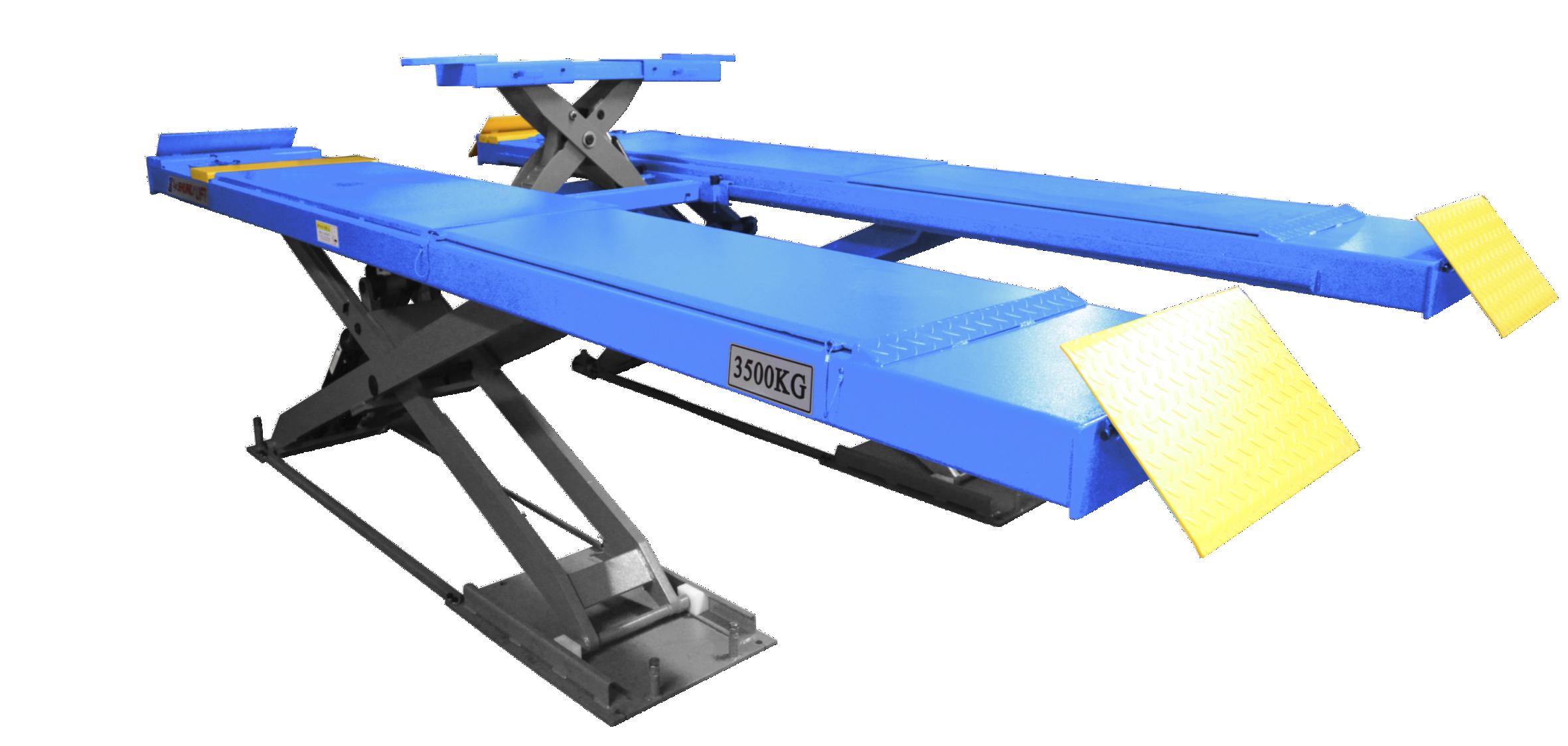 SHL-Y-J-35CCX 超超薄四轮定位(带小车)剪式举升机