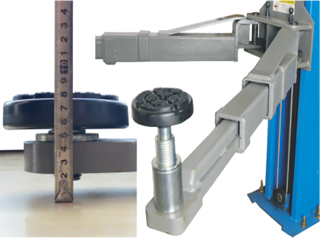 SHL-2-240W Two Post Lift (Solid Plate Version)